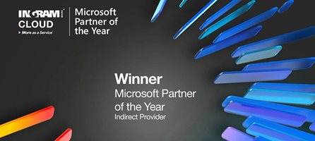 "Vinnare av ""Microsoft Partner of the Year Award"""